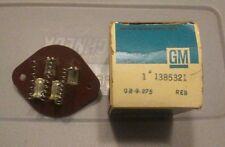 New Genuine GM OEM Resistor 1385321