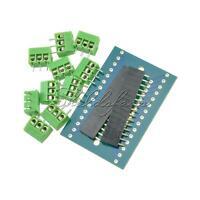 Expansion Board Terminal Adapter DIY Kit For Arduino Nano V3 IO Shield V1.0 Blue