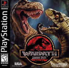 Warpath:Jurassic Park(PS1/1999)USED,GOOD+ CONDITION!