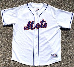 New York Mets David Wright Baseball Jersey Majestic Genuine Merchandise Size XL