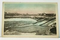 Minneapolis MN St Anthony Falls Tinted 1912 to Fort Wayne Indiana Postcard J10