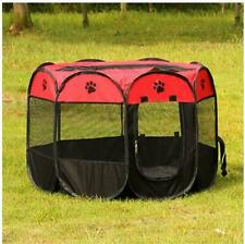 Outdoor Dog Pet Tent Portable Cage Folding Kennel Puppy Playpen House Bed Fence