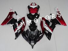 For YAMAHA YZF R6 2008-2016 ABS Injection Mold Bodywork Fairing Kit Red Black