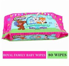 DUNSPEN Royal Family Baby Wipes 80 wipes