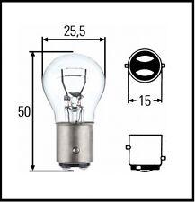 Hella 8GD 002 078-112 Glühbirne Leuchtmittel Glühlampe, P21/5W, 12 V