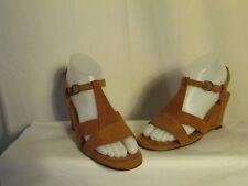 chaussures CHIE MIHARA  daim caramel pointure 37