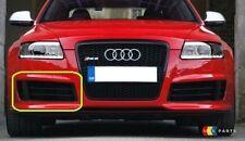 Audi RS6 C6 08-10 Genuine pare-chocs avant inférieur droit O/S Grill Noir 4F0807682KY9B