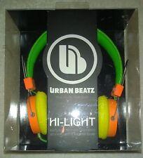 Urban Beatz Hi-Light Isolating Power Headphones High Fidelity Sound  NEW