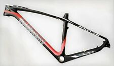 "LARGE 20'' STRADALLI CARBON FIBER MTB BIKE BICYCLE TRAIL XC FRAME 27"" 650B MTB"