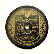 "DANNY KAYE & ANDREWS SISTERS ""Big Brass Band From Brazil"" BRUNSWICK [78 RPM]"