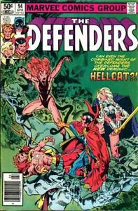 Defenders, The #94 (Newsstand) VF/NM; Marvel   save on shipping - details inside