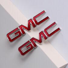 2x GMC Car Body Exter Inner Seat Emblem Stickers for Sierra Terrain Yukon Canyon