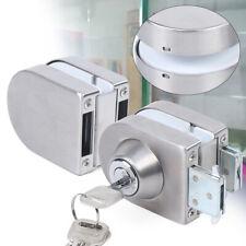 Stainless Steel Frameless Glass Door 10mm-12mm Glass Double Door Lock Fast Ship