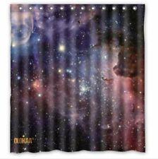 "Us Quality Fabric Waterproof Bathroom Shower Curtain with Hooks 72""x72"""