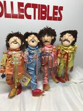 "The Beatles Applause Sgt. Pepper 22"" DOLLS Figures w/Stands"