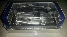 ATLAS 7 905 005 - 1:43 - Mercedes Benz 540 K Roadster 1936 Grise  *NEUF*