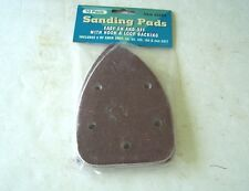 Sanding Pads Iron Shaped 60 thru 240 Grit Pack of 10 new