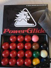Powerglide 50mm Snooker Balls