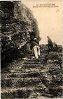 CPA Belle-Ile-en-Mer - Escalier de la Grotte Apothicairerie (431674)