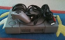 Sony PlayStation PS1 SCPH-9002 PAL. Original grey console. Made in Japan