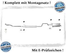 Auspuffanlage Opel Meriva A 1.6 77KW Auspuff Flexrohr Montagesatz ab Kat