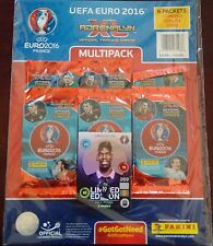 2016 Panini Adrenalyn Euro 2016 Multi Pack (6 paquetes) 54 tarjetas total + le place