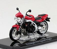 Triumph 955i Speed Triple rot 1:24 Motorrad- Modell / Die-cast
