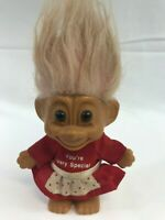 RARE RUSS TROLL DOLL VALENTINE YOU/'RE VERY SPECIAL NOTE CARD New