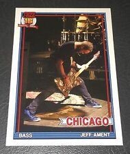 PEARL JAM Wrigley Baseball Card - Jeff Ament 2 on rug - 2016 Chicago pack cubs