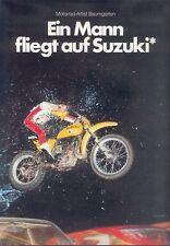 Suzuki RM 370 Motorrad Artist Baumgarten Prospekt 1978 Broschüre Japan Asien