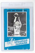 LARRY BIRD 1981 Indiana State Sycamore Rampage College CARD Boston CELTICS ISU
