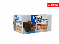 Pure Protein Bar, Chocolate Peanut Butter - 1.76oz each - W/ COLD PACK - 4 Boxes