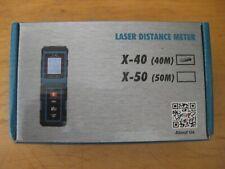 Mini Handheld Digital Laser Distance Meter Range Finder Measure Diastimeter 40M