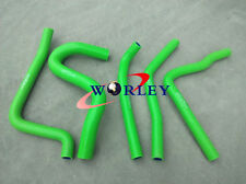 Silicone Radiator Hose for Kawasaki KX250 KX 250 1990 1991 1992 1993 90-93 GREEN