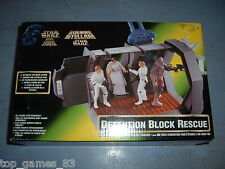 STAR WARS VINTAGE DIORAMA (c)1997 KENNER - DETENTION BLOCK RESCUE (neuf)