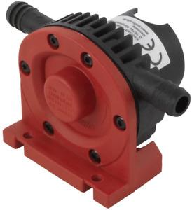Wolfcraft Bohrmaschinen Pumpe mit Kunststoffgehäuse/Selbstansaugende Wasserpumpe