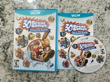 Family Party: 30 Great Games Obstacle Arcade (Nintendo Wii U, 2012), Complete