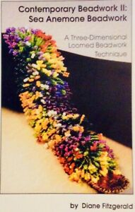 Beadwork Loom Pattern Book,Sea Anemone11,Diane Fitzgerald, New