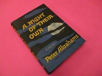 A Night of Their Own by Peter Abrahams 1965 First US Edition Vintage Hardcover