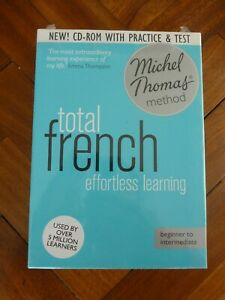 Brand New Total french effortless learning CD-ROM Michel Thomas method