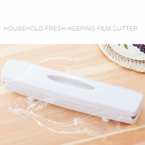 Dispenser Clingfilm Wrap Cutter Safely Cuts Aluminium Foil Baking Paper Tool