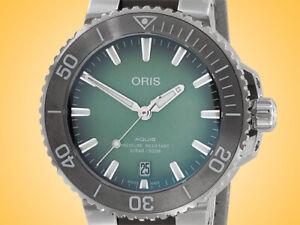 Oris Aquis Date39.5 mm Automatic Stainless Steel Men's Watch