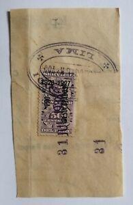 PERU Chile propaganda revenue PRO DESOCUPADO unoccupied 1928 on consular service