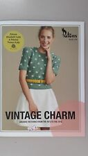 Patons Pattern Book #1318 Vintage Charm - Archive Patterns from the 40's to 70's