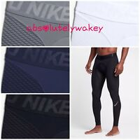 Nike Pro Zonal Strength Men's Training Running Gym Tights Black-Blue-White-Grey
