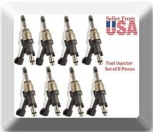 Set 8 x Fuel Injector OEM#12668393 Fits: GM Vehicles V8 6.2L  2014-2018