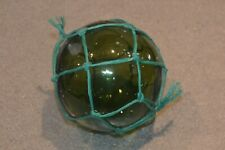 Vintage Portuguese Green Glass Buoy Fishing Floaters #4