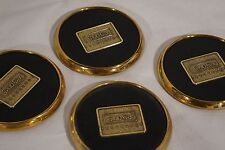 Club Car Golf Drink Coasters Special Collector's item (set of 4) Precedent Brass