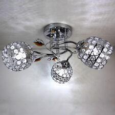 Real K9 Crystal 3 Round Ceiling lamps Spotlight Restaurant Lighting New Arrivals