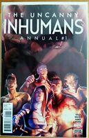 The UNCANNY INHUMANS #1 Annual (2016 Marvel Comics) NM Comic Book